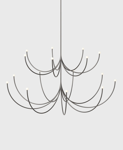 Arca Chandelier, Two Tier, Medium / Large