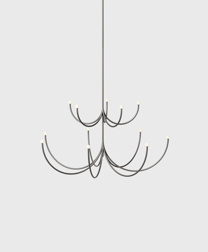 Arca Chandelier, Two Tier, Small / Medium