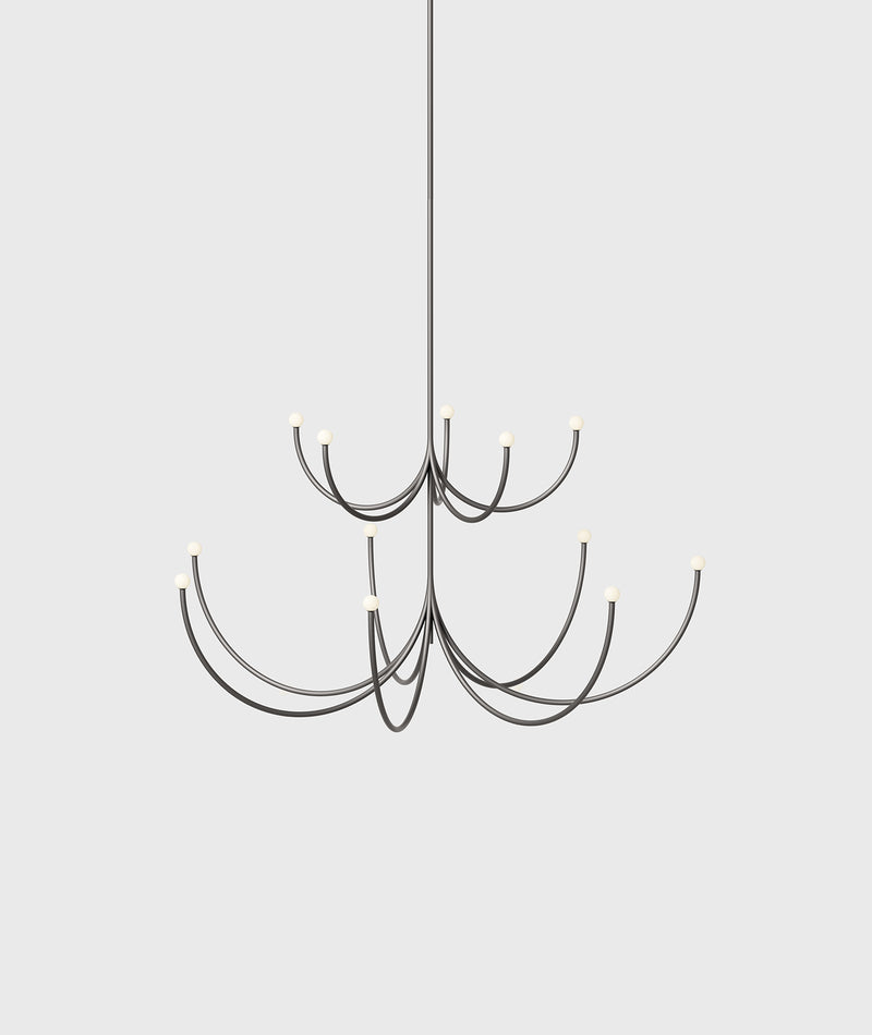 Arca 2-Tier Chandelier - Small / Medium