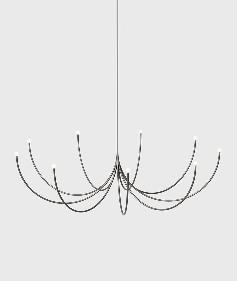 Arca Chandelier, Large, Single Tier