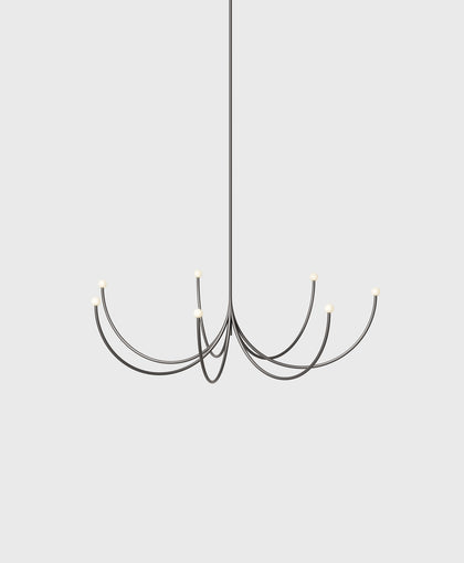 Arca Chandelier, Medium, Single Tier
