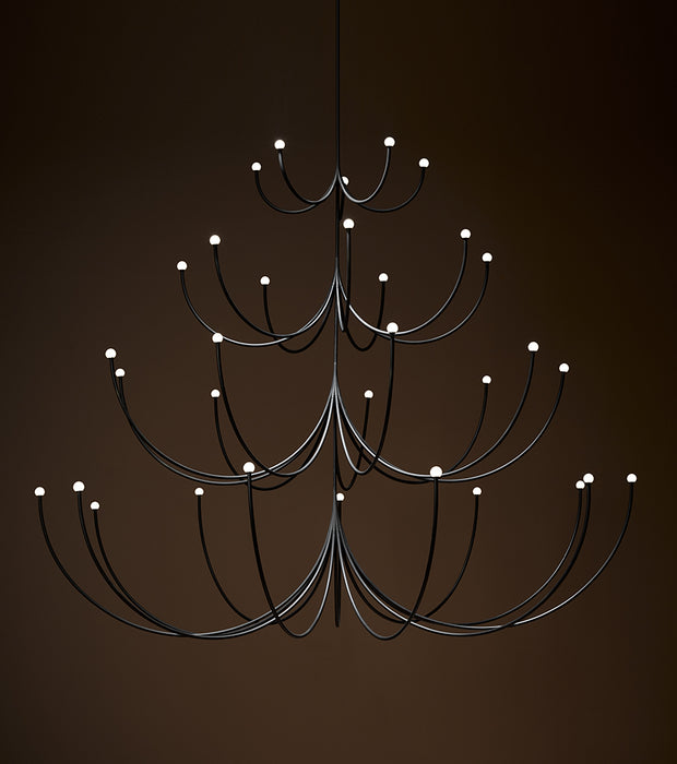 Arca Four Tier Chandelier