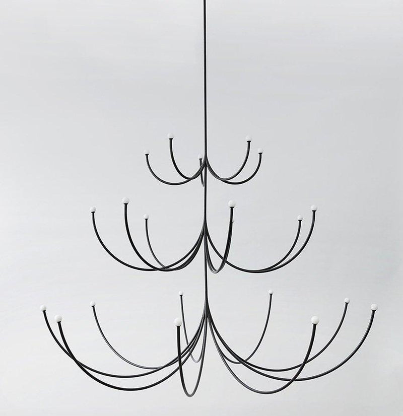 Arca Chandelier, Three Tier