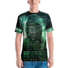 Binary Green 2 Hacker Men's T-shirt