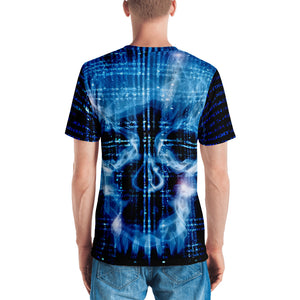 Binary Skull Men's T-shirt