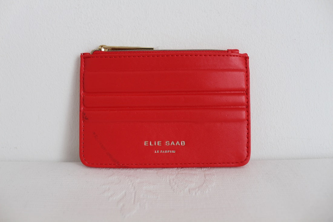 ELIE SAAB LE PARFUM DESIGNER RED PURSE