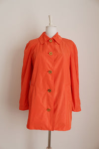LAUREN RALPH LAUREN ORANGE COAT - SIZE M