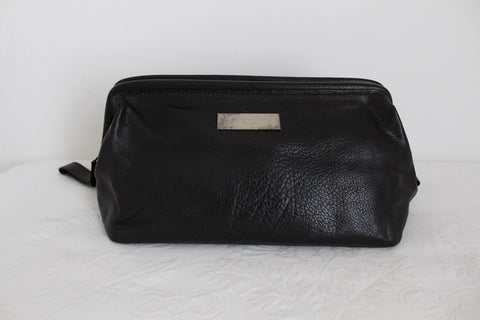 CHARLOTTE RHYS GENUINE LEATHER TOILETRY BAG