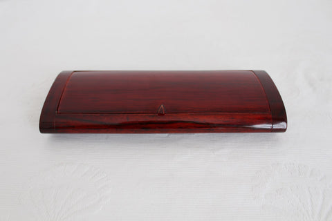 VINTAGE WOODEN PENCIL BOX CASE