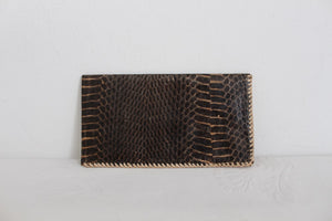 GENUINE SNAKE SKIN VINTAGE WALLET PURSE