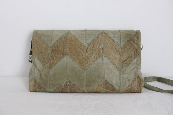 GENUINE ELEPHANT SKIN VINTAGE SLING BAG