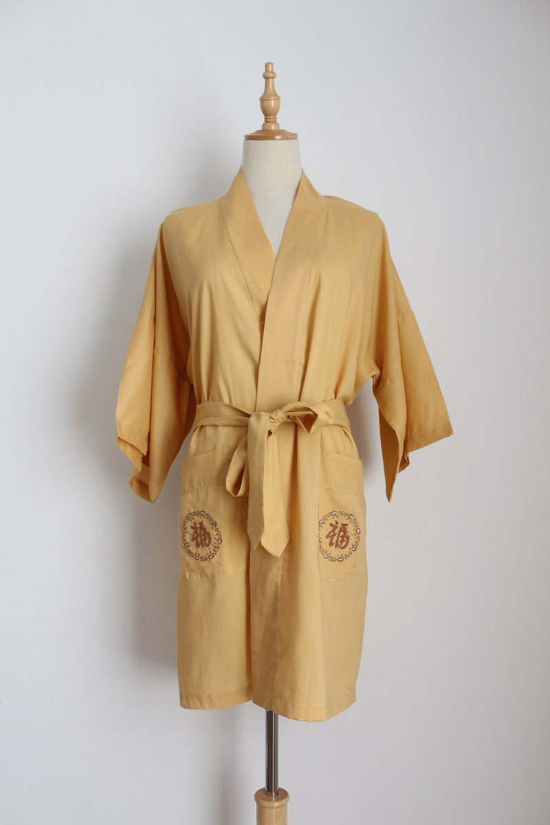 NEW WITH TAGS VINTAGE CHINA ROBE - SIZE S