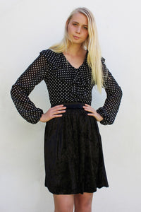 THE MYRTLE DRESS - POLKA DOT