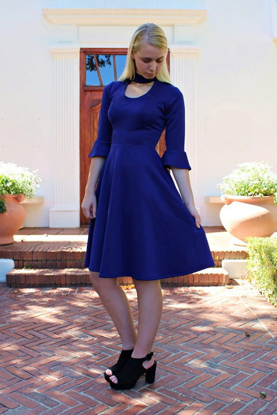 THE MALIBU DRESS - INDIGO