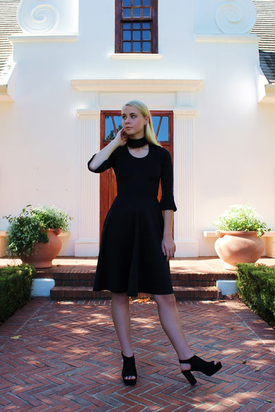 THE MALIBU DRESS - BLACK