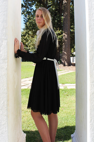 THE ELIZABETH DRESS - BLACK