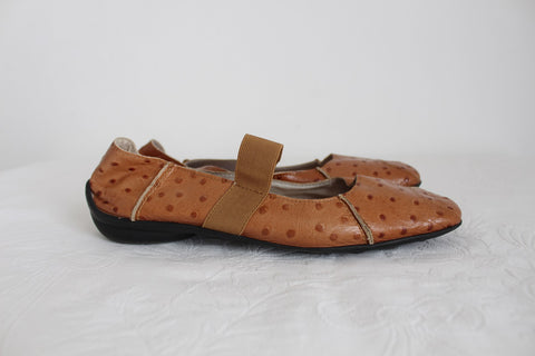 LISA KING COLLECTION GENUINE LEATHER SHOES - SIZE 8