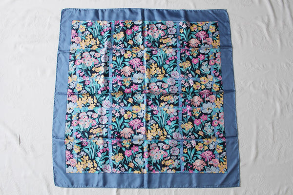 *LIBERTY OF LONDON* 100% SILK DESIGNER FLORAL PRINT SCARF
