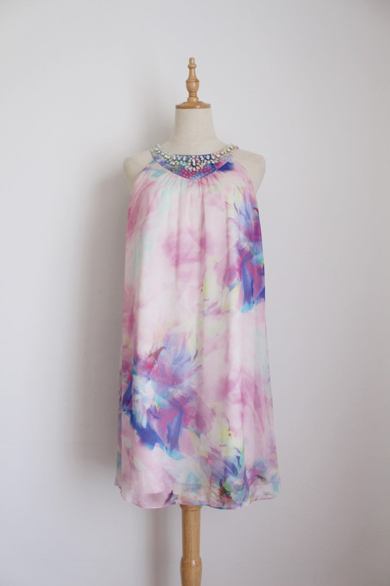 NEW WITH TAGS FOREVER NEW 100% SILK DRESS - SIZE 12