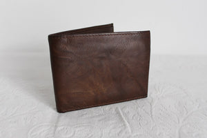 STAFFORD GENUINE LEATHER BROWN MENS WALLET