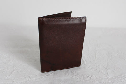 *BUSBY* GENUINE LEATHER BROWN MENS WALLET