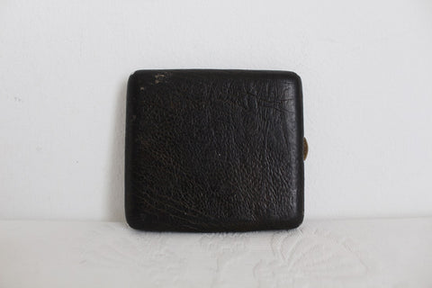VINTAGE GENUINE OSTRICH SKIN CIGARETTE HOLDER CASE