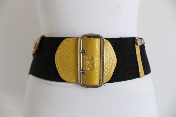 VINTAGE ARABIC FABRIC LEATHER COIN PURSE BELT