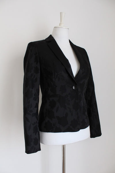 NEW WITH TAGS HOBBS DESIGNER BROCADE BLAZER - SIZE 6