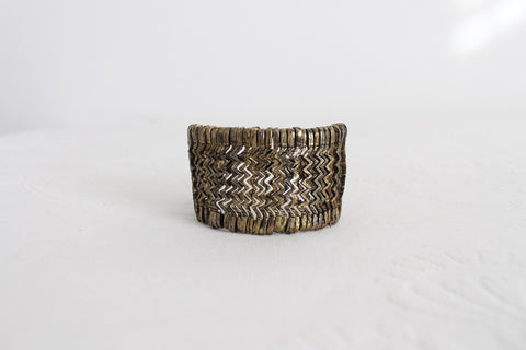 VINTAGE CHEVRON TRIBAL ETCHED BRACELET
