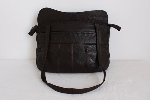 VINTAGE SOFT GENUINE LEATHER SLOUCHY BAG
