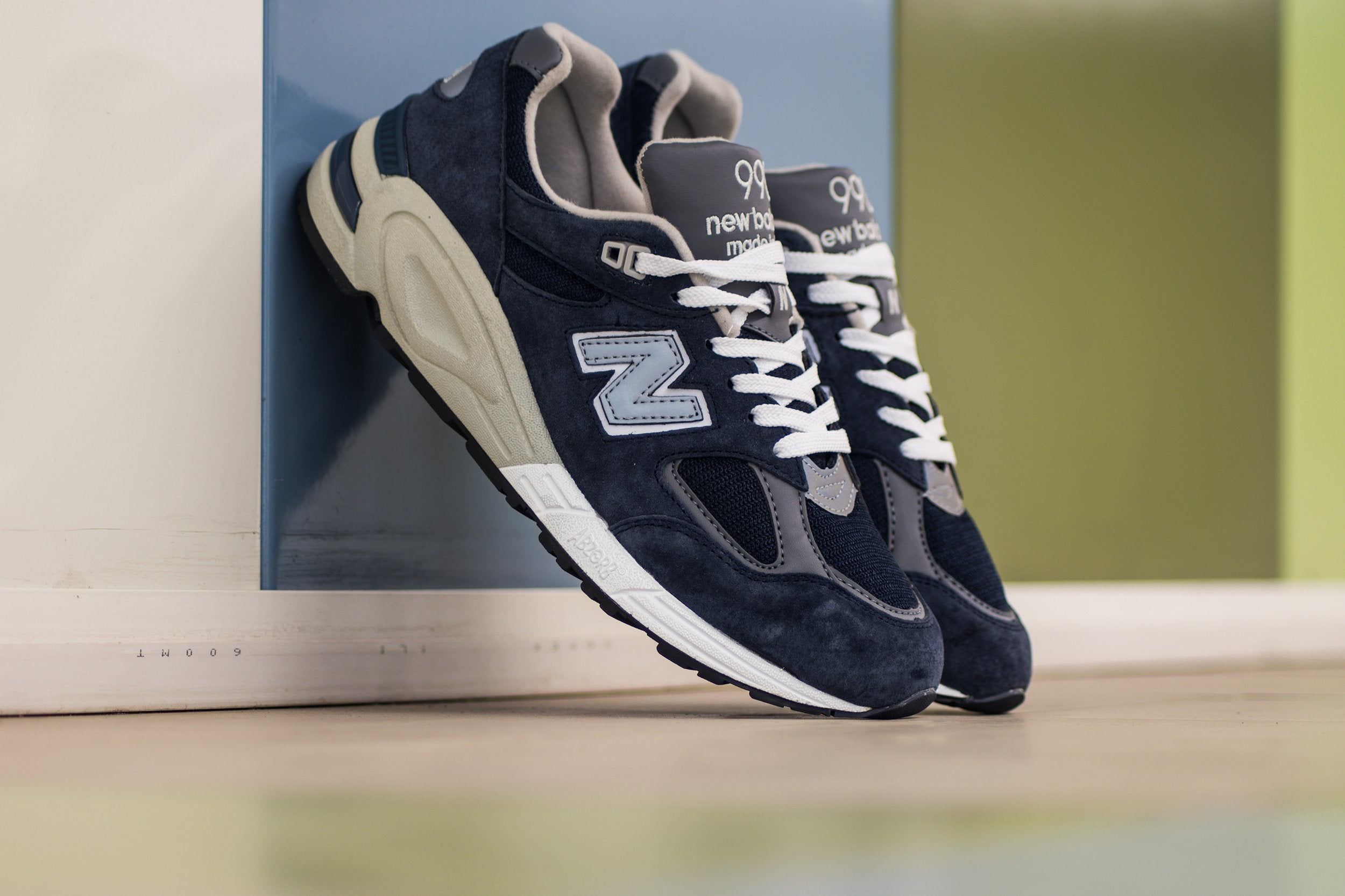 New Balance 990 Deep Blue