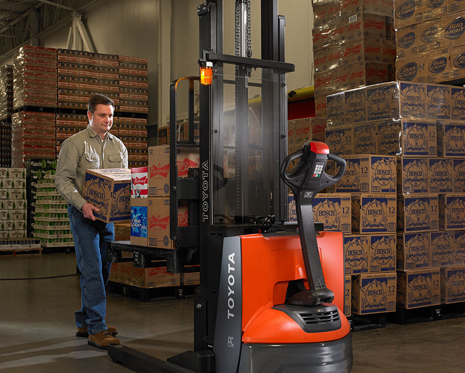 Toyota Electric Walkie Stacker Pallet Jack