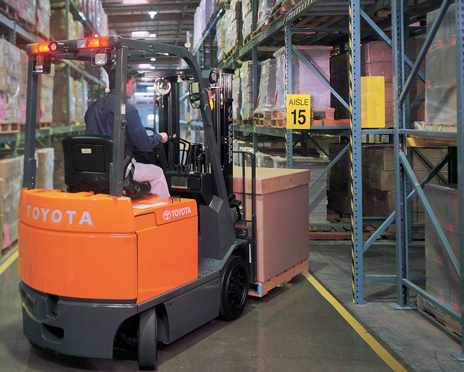 Toyota Large Electric Forklift Photo