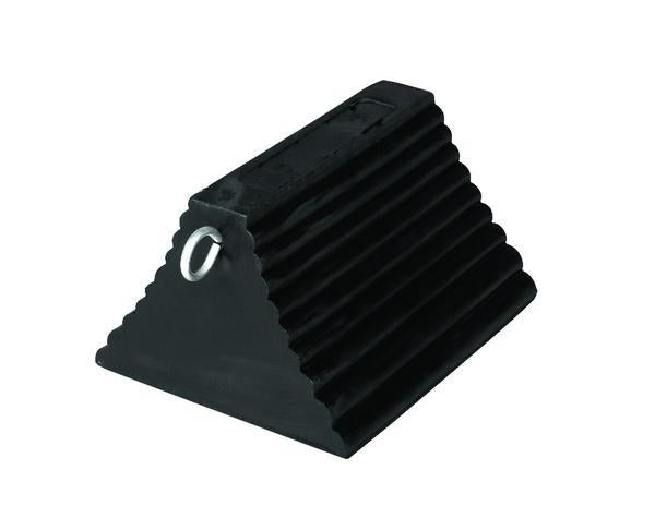 Rubber Wheel Chocks Pyramid with Eye Hook