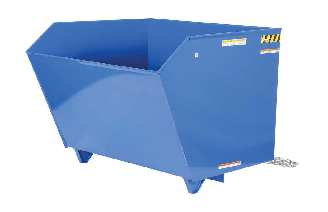 Low Profile 90° Self Dumping Steel Hoppers