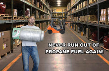 Low Propane Fuel Gauge