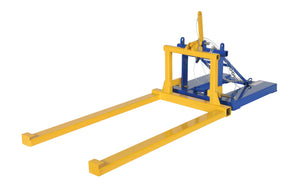Pallet Dumper Retainer Attachment - Forklift Training Safety Products