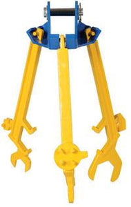 Multi-Purpose Drum Lifter/Wrench - Forklift Training Safety Products