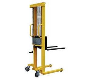 Manual Hand Winch Stackers - Forklift Training Safety Products