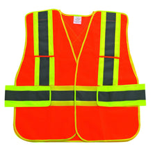 High Visibility Reflective Mesh Safety Traffic Vest
