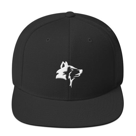 WOLF - LONEPRENEUR BLACK SNAPBACK