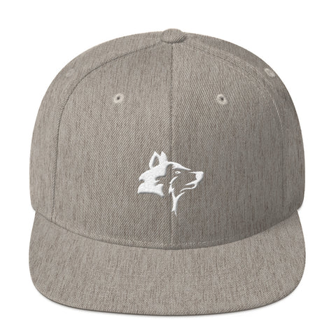 WOLF - LONEPRENEUR HEATHER GREY SNAPBACK