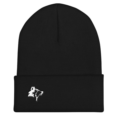 THE WOLF - CUFFED BEANIE