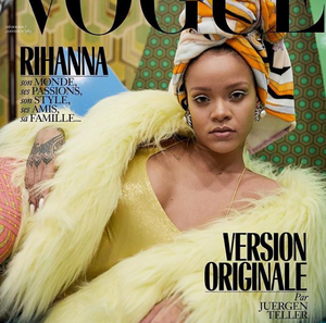 Rihanna's Nails: on the Cover of Vogue Paris - December Issue 2017