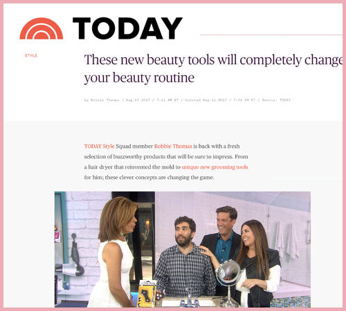 Today Show: New BeautyTools that Will Completely Change Your Beauty Routine.