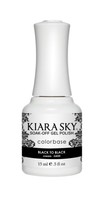 Kiara Sky Gel Polish Black To Black G435