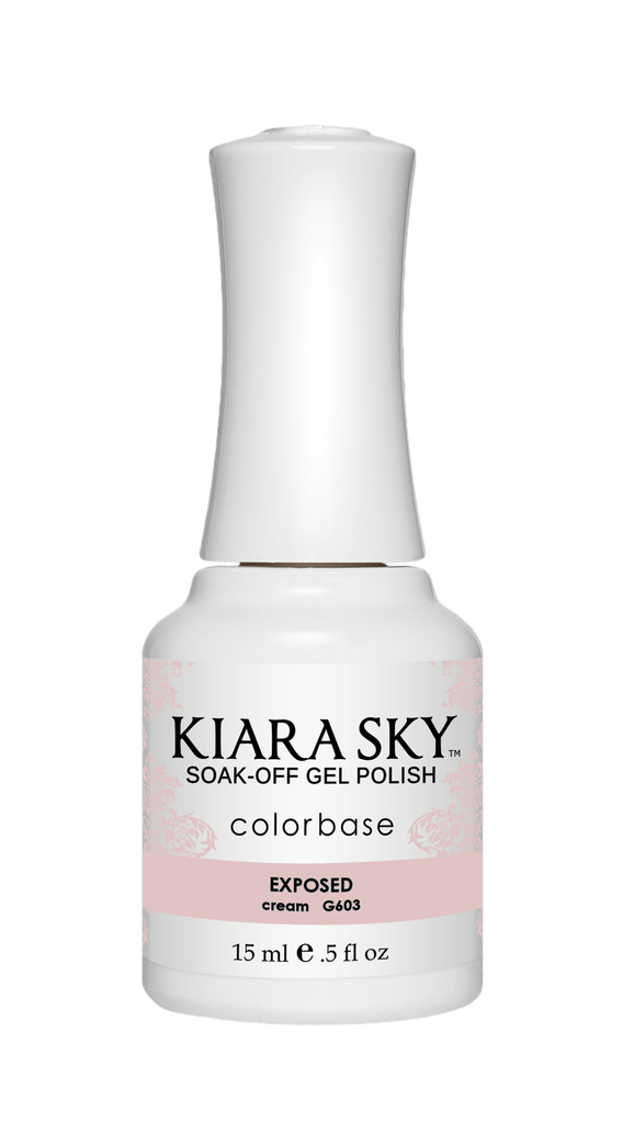 ESMALTE EN GEL POLISH -G603 EXPOSED DE KIARA SKY