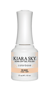 ESMALTE EN GEL POLISH -G604 RE-NUDE DE KIARA SKY