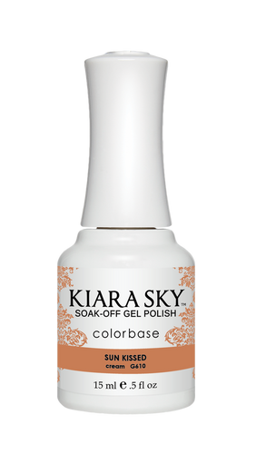 ESMALTE EN GEL POLISH -G610 SUN KISSED DE KIARA SKY