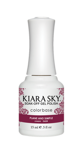 Gel Polish Plane And Simple G624 De Kiara Sky